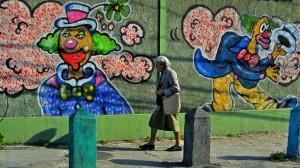 Velha no Graffiti