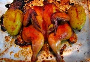 Galeto com Batatas ao forno