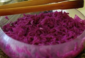 Sauerkraut a moda baiana