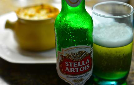 Stella Artois com Creme de Legumes