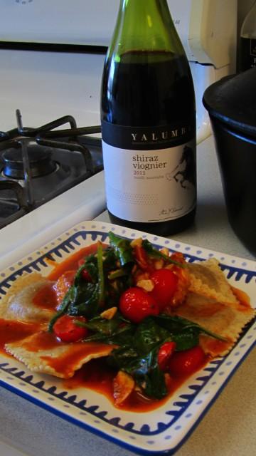 harmonizado com vinho australiano, Shiraz e Viognier
